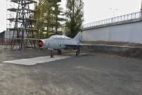 Ostrava – stíhací letoun MIG-21