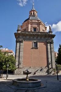 Madrid - kostel sv. Ondřeje  (Iglesia de San Andrés)