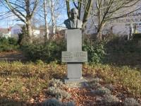 Boskovice – pomník Otakara Kubína