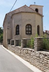 Pula – pravoslavný kostel sv. Mikuláše  (Pravoslavna crkva sv. Nikole)