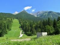 Julské Alpy - sedlo Sella Nevea