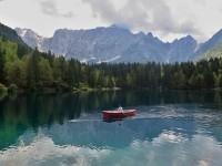 Lago di Fusine  - dolní jezero