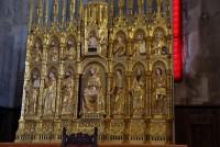 gotický polyptych