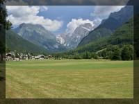 Julské Alpy na kole aneb cesta z hor k moři 2 (Passo Predil, pod Mangartem, Kluže)