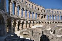 Pula – aréna, římský amfiteátr  (Arena, Amfiteatar)