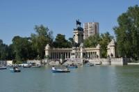 Madrid – park Retiro  (Parque del Buen Retiro)