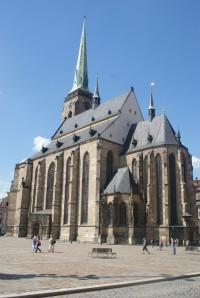 Plzeň – katedrální kostel sv. Bartoloměje