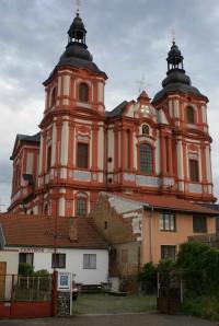 Přeštice - barokní kostel Nanebevzetí Panny Marie