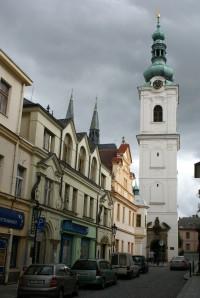 Klatovy - gotický kostel Narození Panny Marie