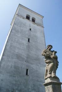 Zřícenina hradu Obřany a Hostýnské vrchy