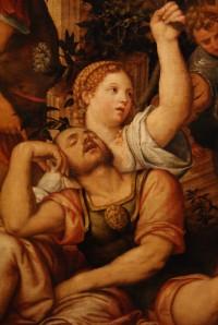 Pomponio Amalteo - Samson a Dalila (detail)