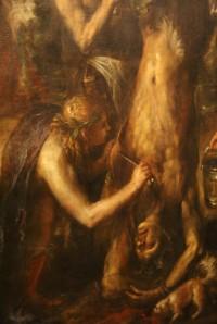 detail Tizianova obrazu