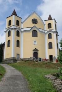 Neratov – kostel Nanebevzetí Panny Marie