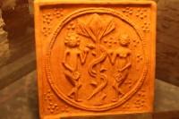 kachle s Adamem a Evou