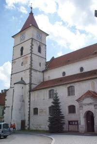 Horažďovice – kostel sv. Petra a Pavla