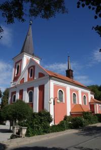 Rájec (Rájec - Jestřebí) – barokní kostel Všech svatých