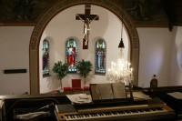 interiér starokatolického kostela
