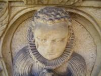 detaily náhrobků v D. Studénkách