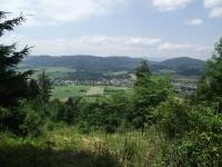 výhled z Kamenitého kopce