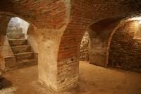 krypta klášterního kostela