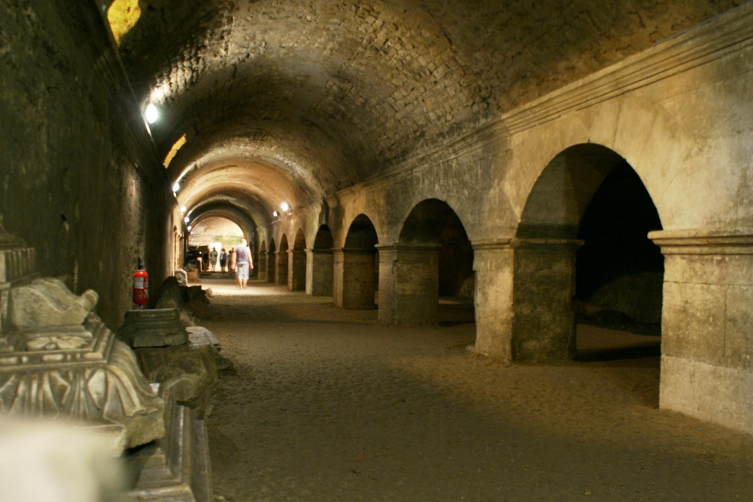 Arles – podzemní chodby (les cryptoportiques)