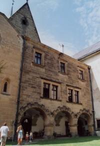 jižní křídlo renesančního paláce