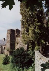 severní strana hradu