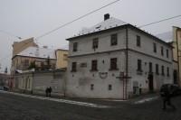 Olomouc – vikářské domy s otevřenou kaplí (Dům Štěstí a Vikárka)