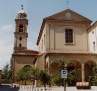 Bagnacavallo - kostel sv. Františka (Tempio di San Francesco)