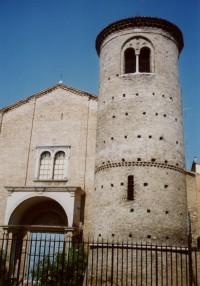 Ravenna – bazilika sv. Agáty (Basilica di Sant'Agata Maggiore)