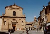 Bagnacavallo - kostel Panny Marie (Chiesa di Santa Maria della Pace o del Carmine)