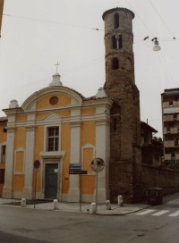 Ravenna – kostel sv. Jana a Pavla (Chiesa dei Santi Giovanni e Paolo)