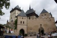 Karlštejn – Hodinová a Studniční věž
