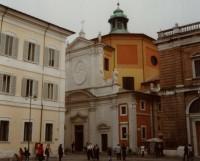 "Ravenna – ""volební"" kostel Panny Marie (Chiesa di Santa Maria del Suffragio)"