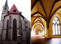 Cheb - františkánský klášter s kostelem Zvěstování Panny Marie