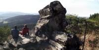 náhodně vzniklé vrcholové panorama