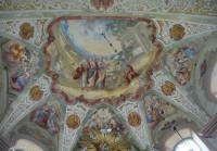 freska v presbytáři