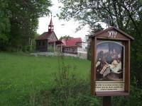Kaple sv. Martina, křížová cesta a chata na Olšanských horách