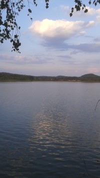 Komárovský rybník u Branžeže