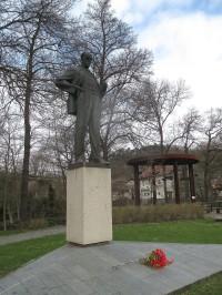 Pomník dělnického presidenta v Zákolanech