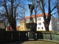 Příbram - Pomník padlým