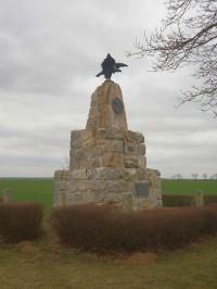 Stav pomníku v březnu 2014