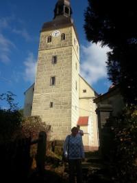 Chřibská, kostel sv.Jiří
