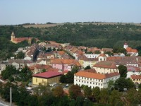 Pohled na Moravský Krumlov