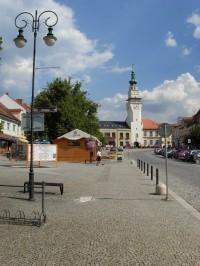 Renesanční radnice s věží v Boskovicích