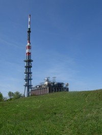 Multifunkční vysílač na vrcholu Velké Javořiny