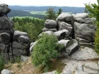 Výhled z vrcholu Čáp