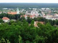 Pohled na město od Starého hradu