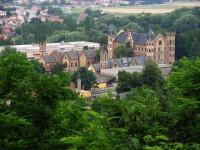 Pohled na zámek od Starého hradu
