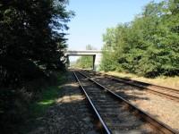 Křížení Vlárské a elektrifikované Severní Ferdinandovi dráhy